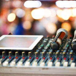 Tontechnik - professionelle Leistungen und Anlagen mieten
